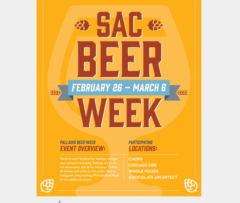 Sacramento Beer Week at Palladio